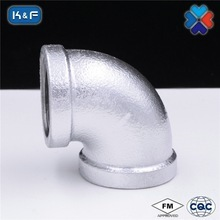 Galvanized Malleable Iron Pipe 90 degree Elbow