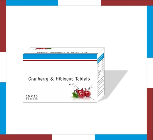 Cranberry & Hibiscuc Tablet