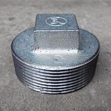 Galvanized Malleable Iron Pipe Plug