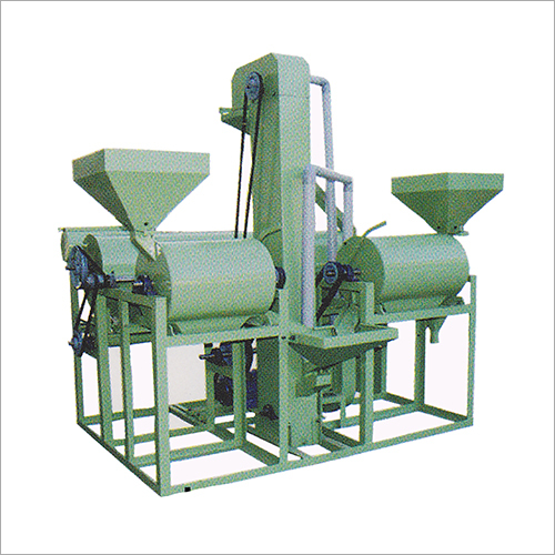 Double Roller Dal Mill