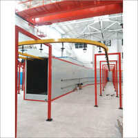 Powder Coating Line for Railway Parts