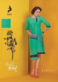 WESTERN OUTFITS KURTI FOR PARTY WEAR