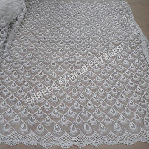 Net Schiffli Embroidery Fabrics