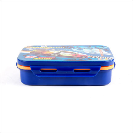 School Lunch Box Blue
