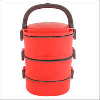 Tiffin Box Red