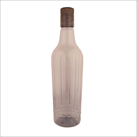 Plastic Water Bottle Black