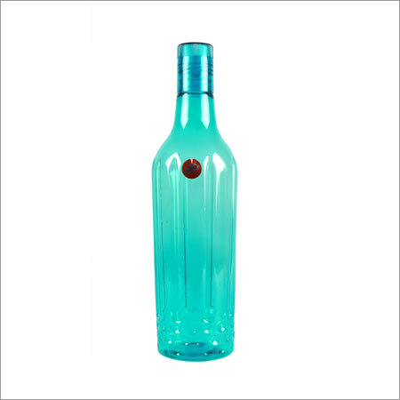 Plastic Water Bottle Blue