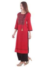 Hand Embroidered Kurti