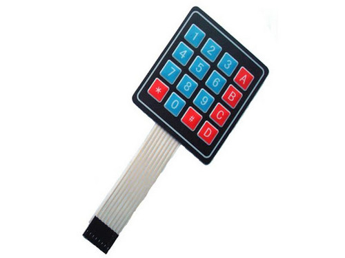 4×4 Matrix Keypad for Arduino