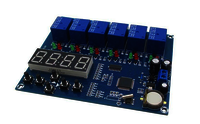 Multiple Timing Module 6 Relay Time Control Board