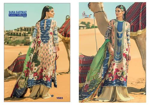 COTTON ANARKALI SUIT