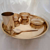 Dinner Set Begi Plate Rim 6 Piece (Mukta Bowl )