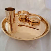 Bronze Metal Dinner Set