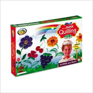 PAPER QUILLING 2 IN 1-NL FLOWER & FRUIT