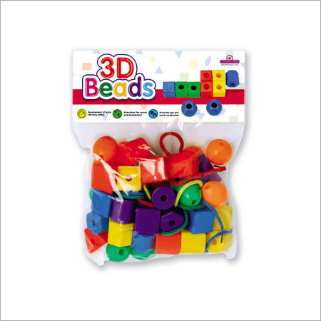 3-D Beads (24 Beads)