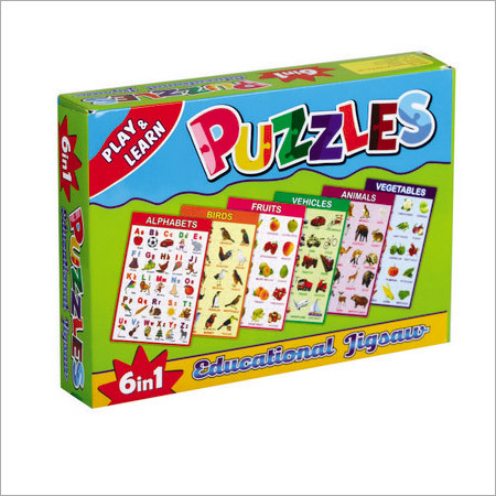 Jigsaw Puzzle (6 In 1)