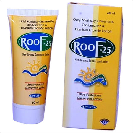 Roof 25 Sun Screen Lotion