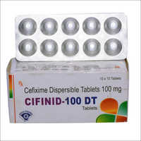 Cefixime Dispersible Tablets 100mg