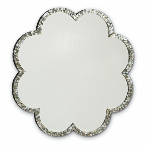 Indian mother of pearl mirror frame