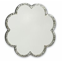 Flower Design MOP Mirror