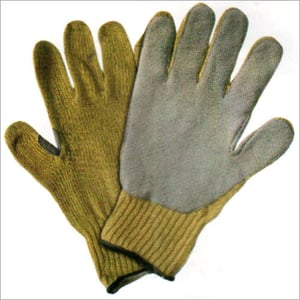 Gloves With Leather On Palm