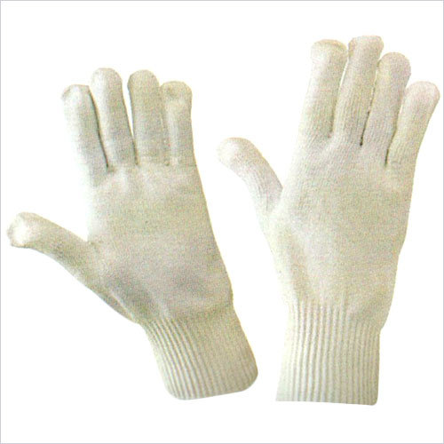 100 Percent Nylon Seamless Knitted Gloves