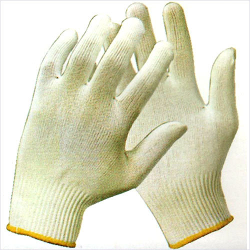 100 Percent Polyester Seamless Knitted Gloves