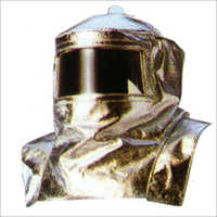 Complete Aluminized Hood Stitched With Kevlar Thread