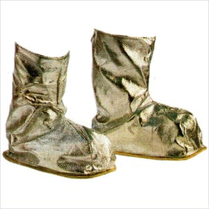 Aluminized Shoe Stitched With Kevlar Thread
