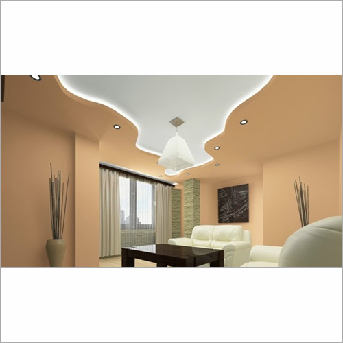 Curved Pop False Ceiling Designs