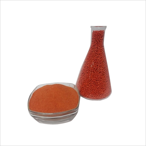 Orange LLDPE Rotomoulding Granules