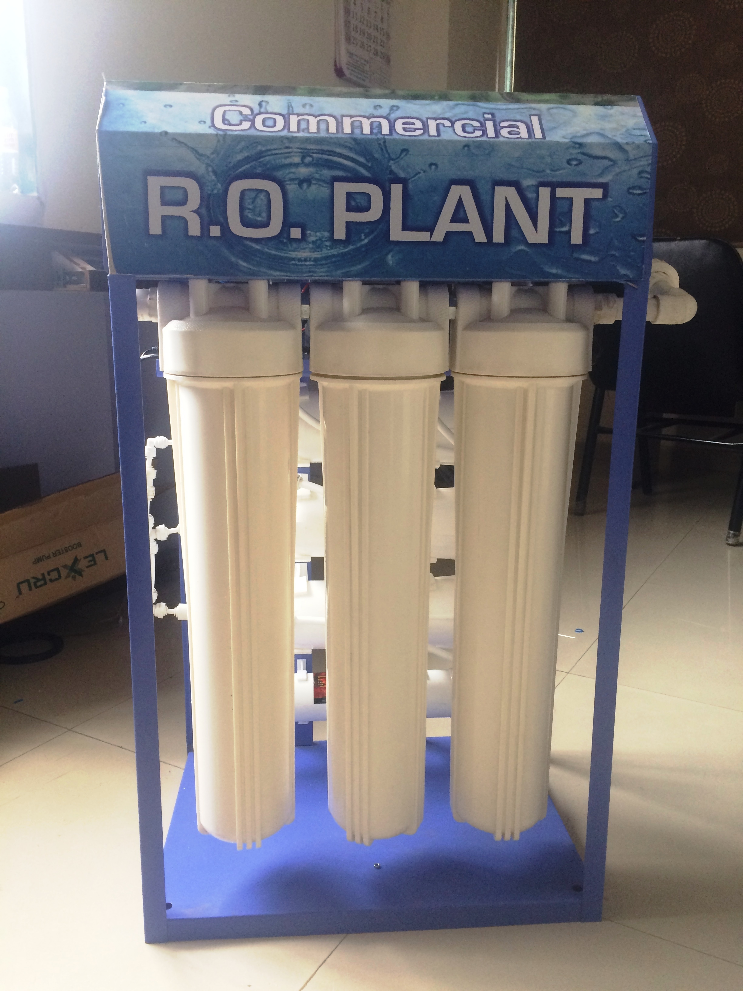 Commercial RO Plant 100 LPH