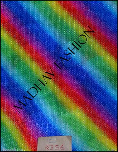 Digital print on Embroidery work