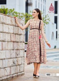 GEORGETTE FANCY KURTI