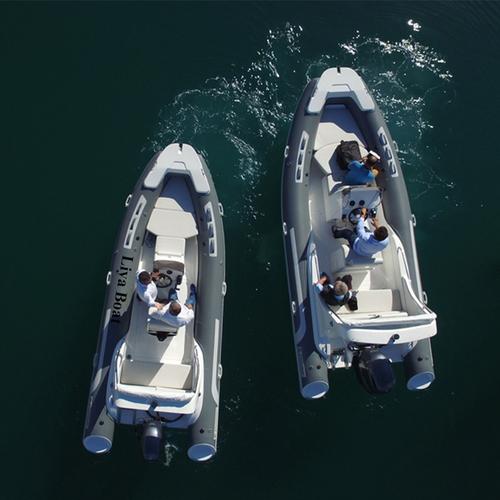 FRP Rescue Boat
