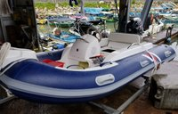 11ft/3.3m Inflatable RIB Boat with Engine
