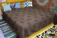 Block Print Bed Sheet