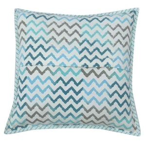 Block Print Cotton Handloom Cushion Cover