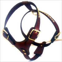 Velvet Leather Dog Harnesses