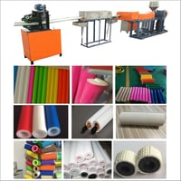 Film Extruding Pipe Bonding Machine