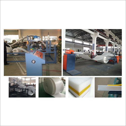 EPE Foam Sheet Banding Thickening Machine