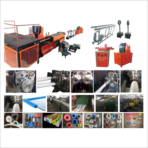EPE Foam Pipe Bar Profile Extrusion Machine