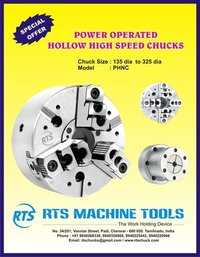 Power operated chucks