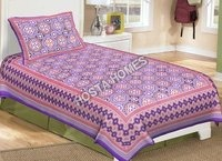 Single Bed Bedsheet Multi  Color