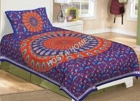 Floral Print Single Bed Bedsheet