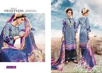 PURE COTTON LAWN PRINTED UNSTITCHED DRESS MATERIALS
