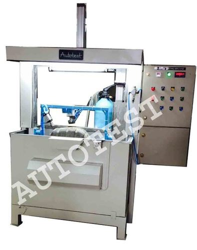 LEAKAGE TESTING MACHINE FOR MOTORCYCLE FUEL TANK (Supplied for TVS Motorcycle)