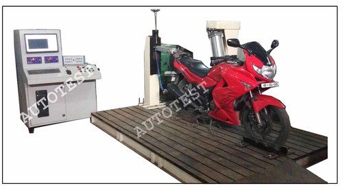 MOTORCYCLE STAND ENDURANCE TEST RIG (Supplied to Hero Moto Corp Ltd.)