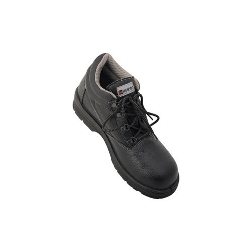 Black Safety Leather Shoe