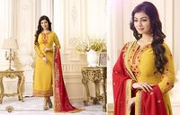 TRADITIONAL WEAR GEORGETTE FABRIC WORK SUITS